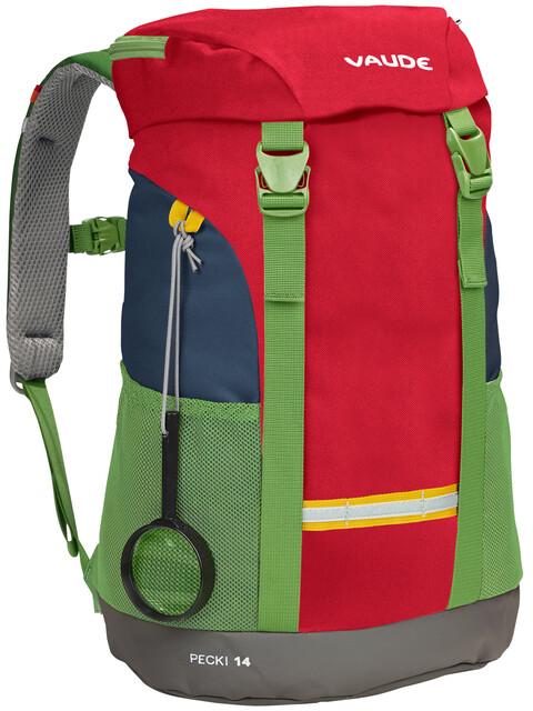 VAUDE Pecki 14 Backpack Kids marine/red